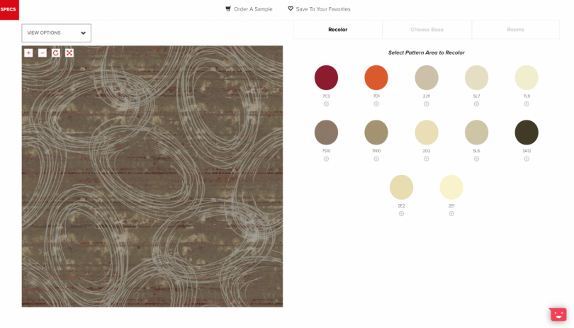 screen shot of rug pattern