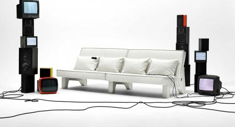 BAM! Sofa Collection + Its Strong Profile Create a Bold Impression