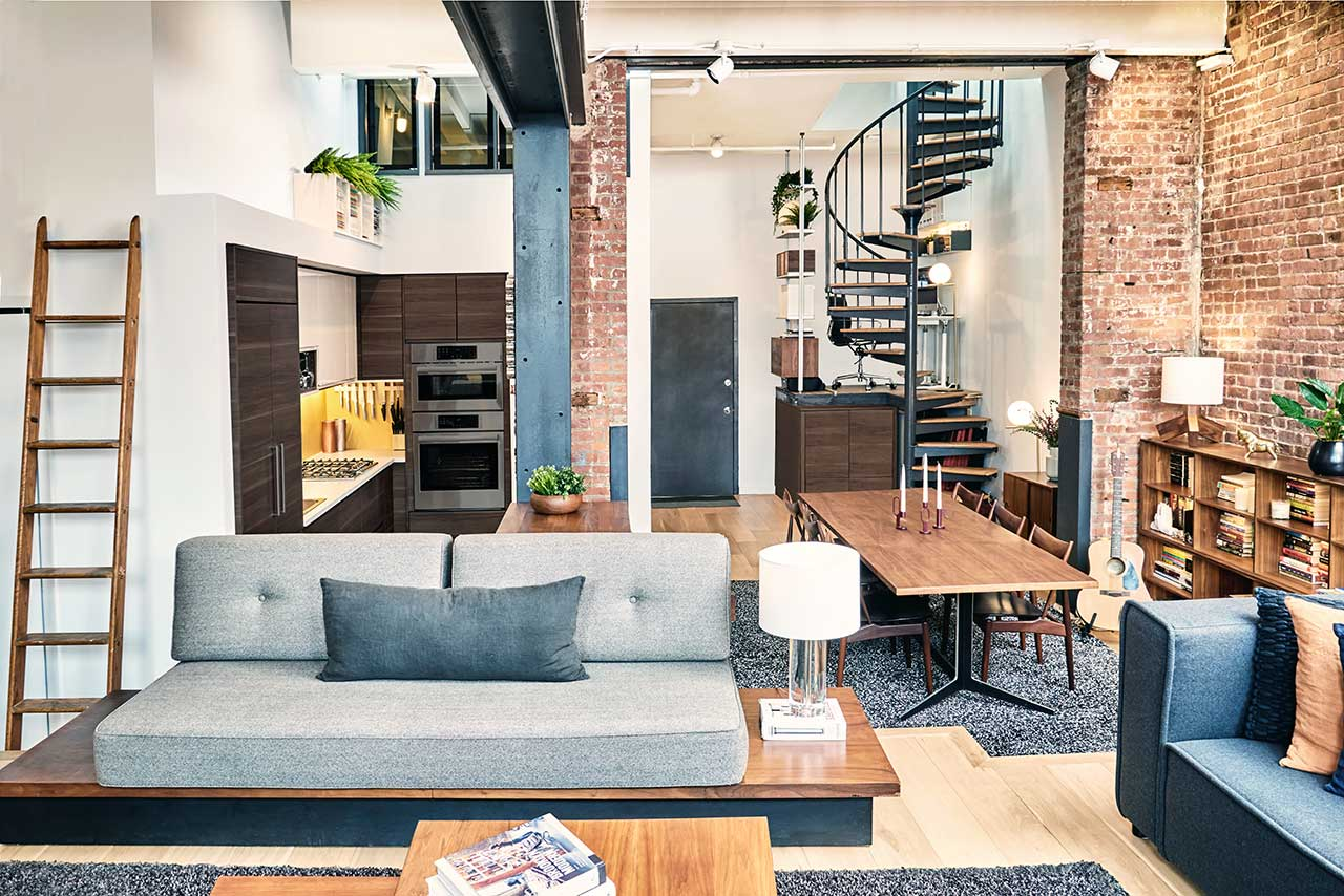 A Brooklyn Loft Emerges From a Former Paper Factory