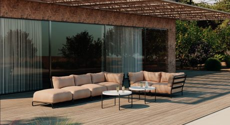 Create Your Ideal Outdoor Lounge Area With Brick Sofa