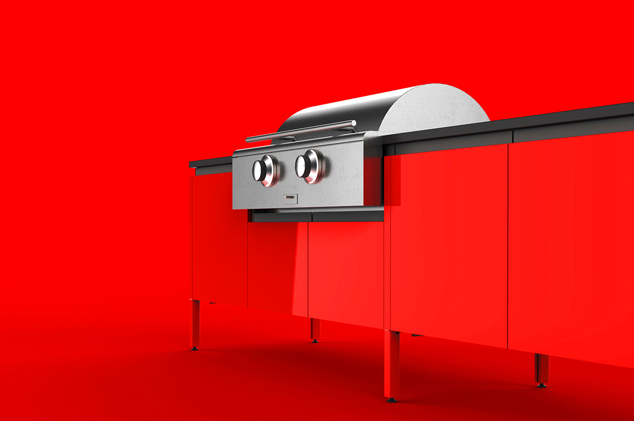 13 Bold Colors That Will Take Your Dream Outdoor Kitchen up a Level