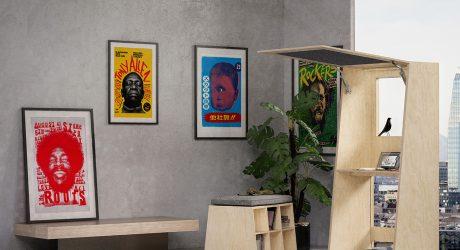 CREATIVO Desk: Open, Use, Close, Done