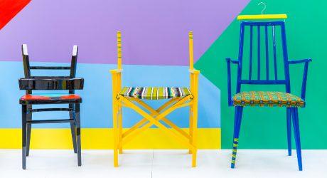 Yinka Ilori Turns Discarded Chairs into Sculptural Pieces With a Story