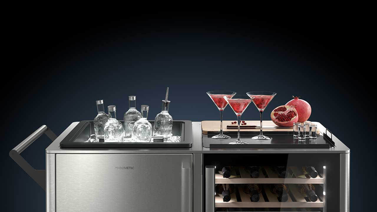 The MoBar Mobile Bar Turns the Host Into a Guest
