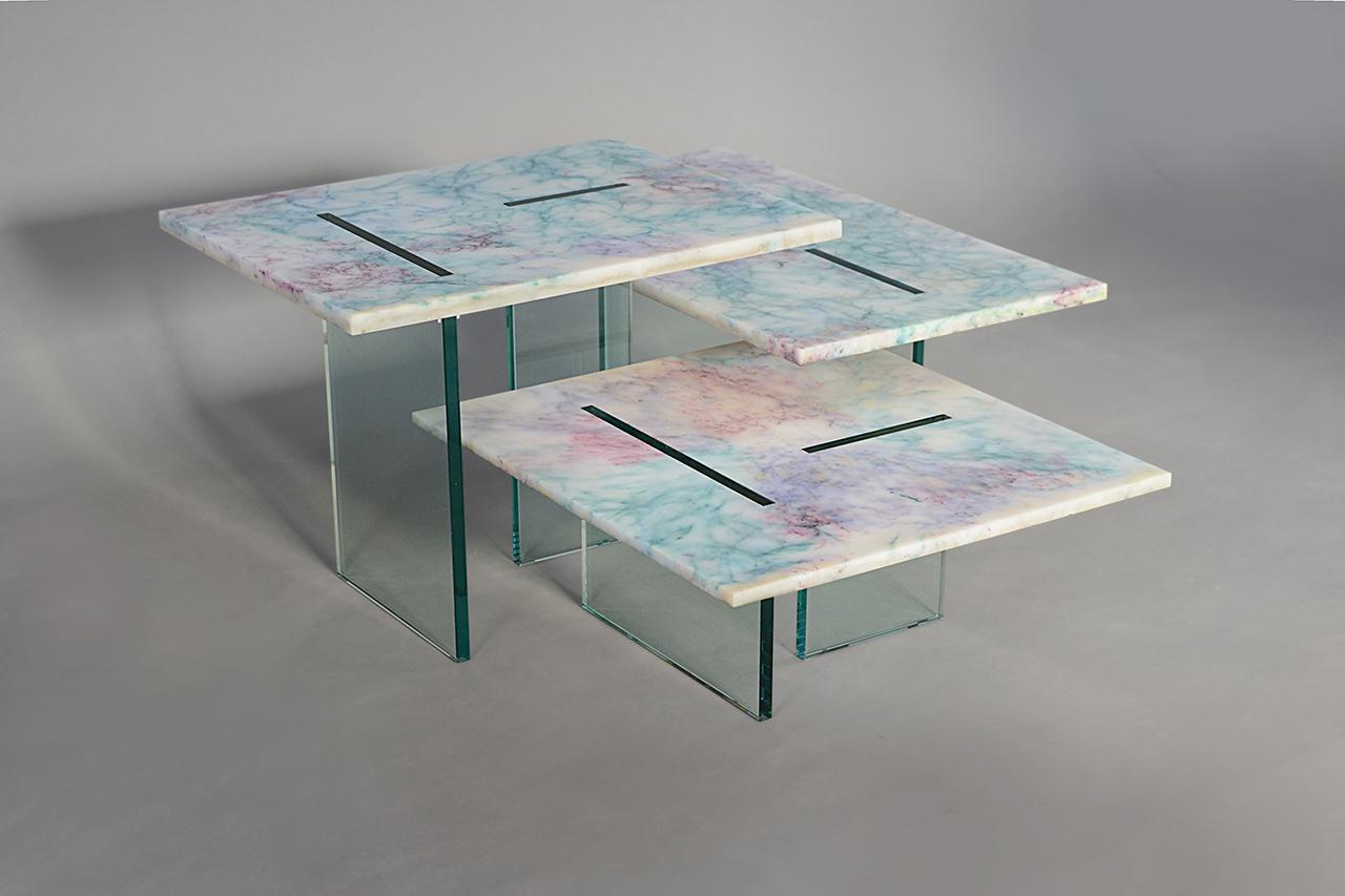 trio of tables