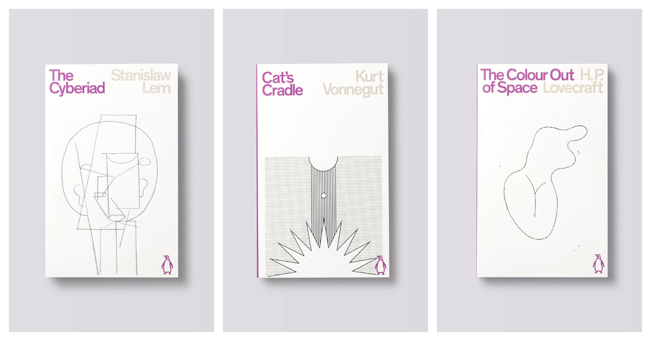 three bookcovers