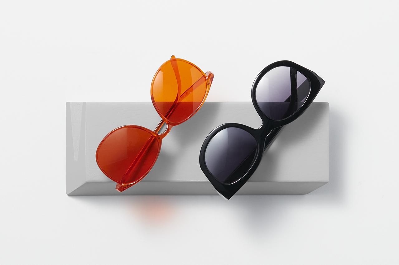 sunglasses and holder