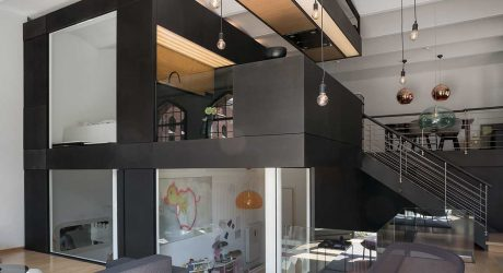 Neulant van Exel Creates The Living Cube Inside an Apartment in Berlin