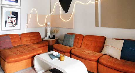 Liz Kamarul Goes All in To Design the Living Room of Her Dreams