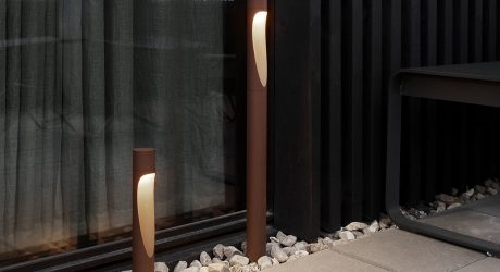 Flindt Garden Outdoor Lighting Brings Sculptural Ambiance