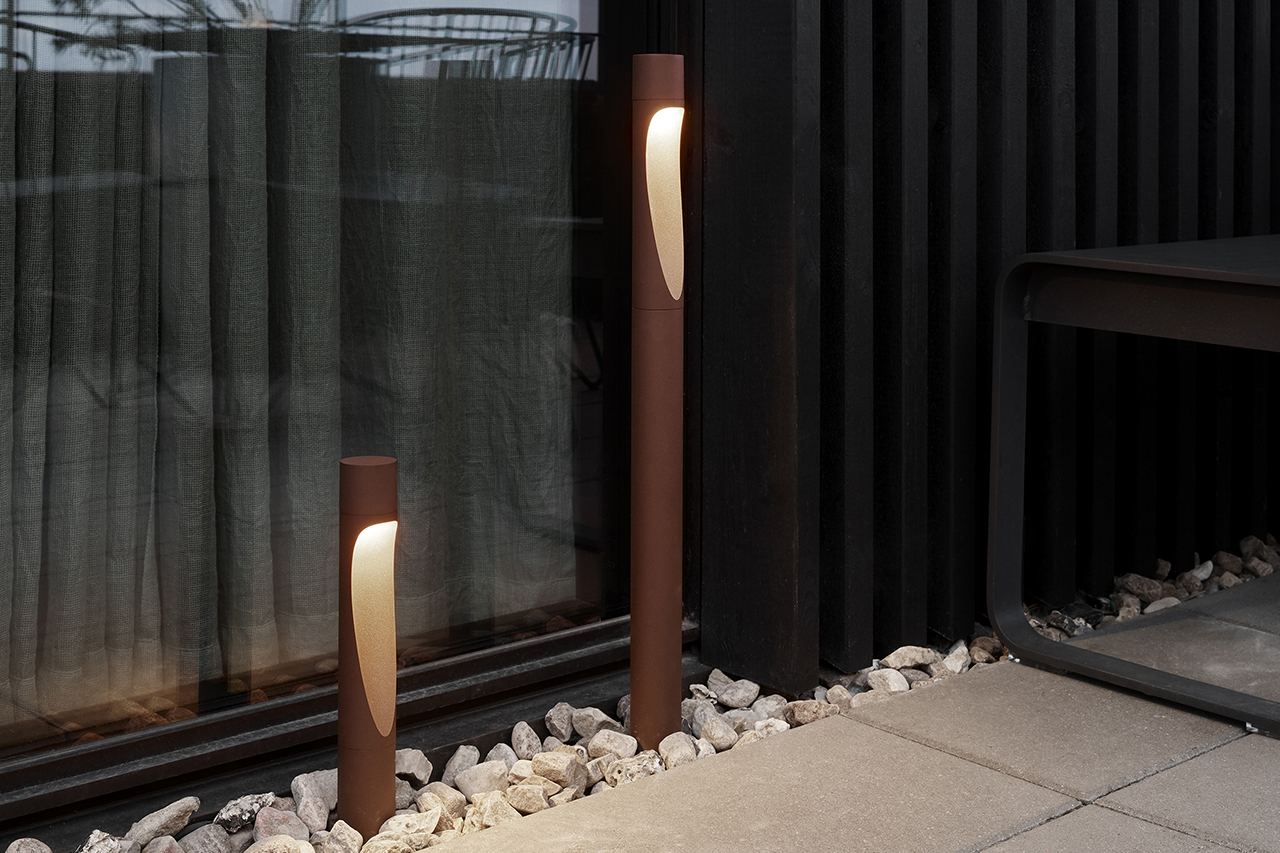 Flindt Garden Outdoor Lighting Brings Sculptural Ambiance