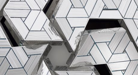 The Brilliant Mirrored Sculptures of Monir Shahroudy Farmanfarmaian