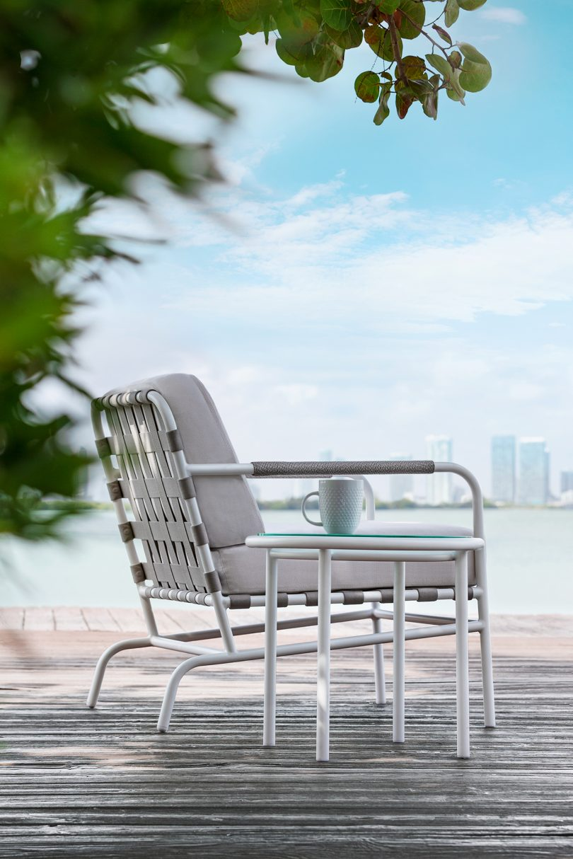 outdoor chair outside