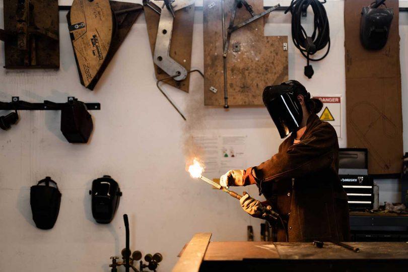 Welder lighting torch