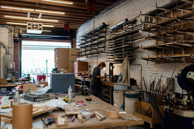 David Weeks studio