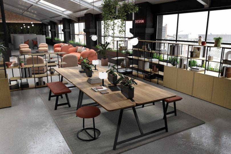 Relic at Work by Frövi Design Adds Flexibility To the Workplace