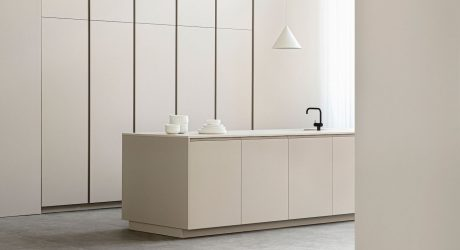 Profile Transforms IKEA Cabinets into a Minimalist Kitchen