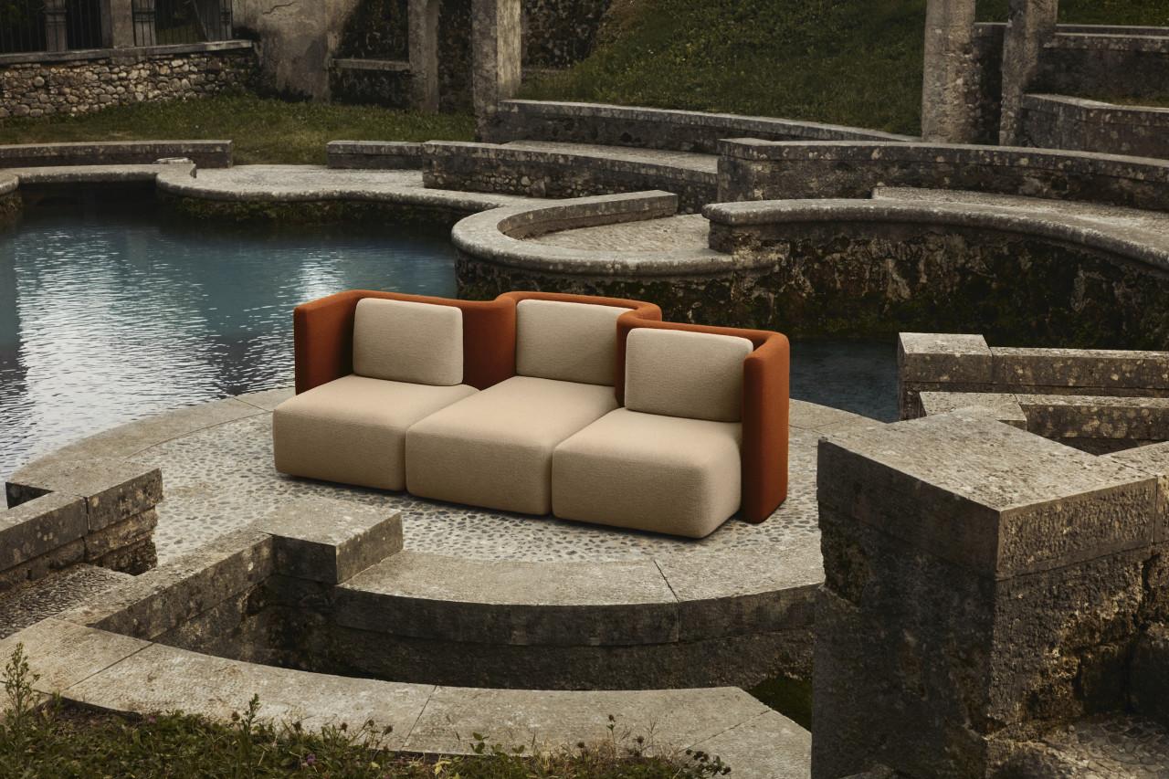 Gala Is a Futuristic Seating System by Cristina Celestino for Saba