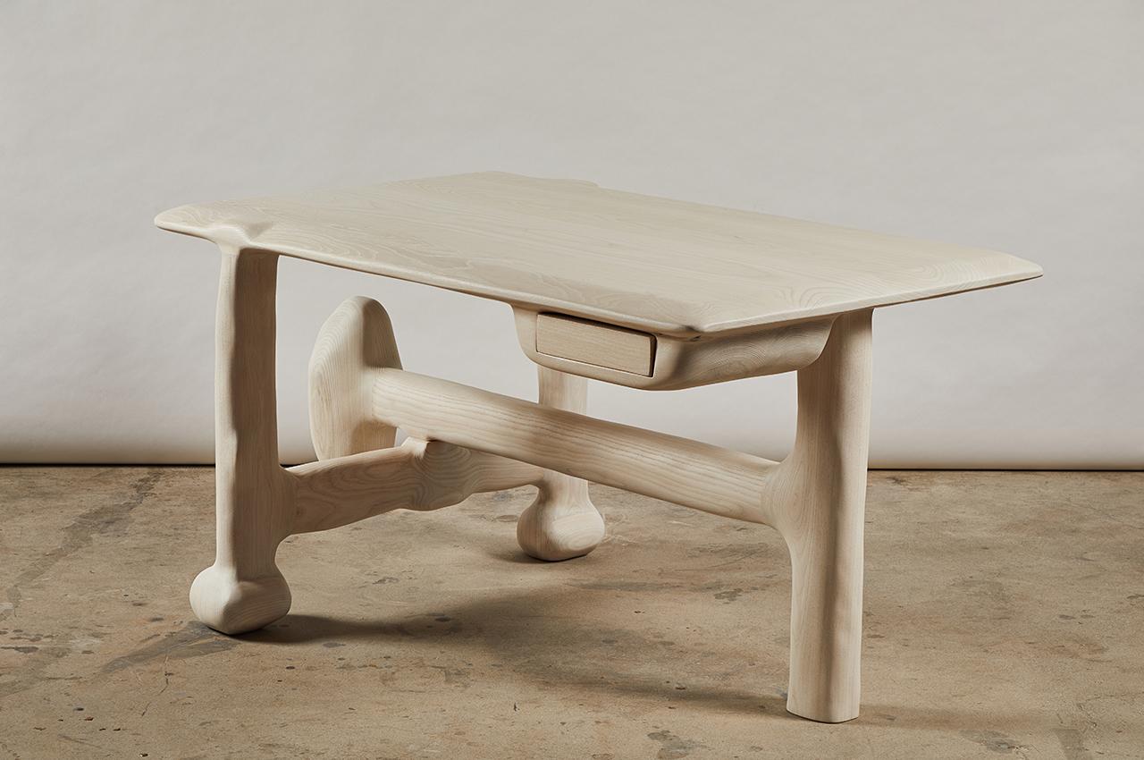 sculptural desk