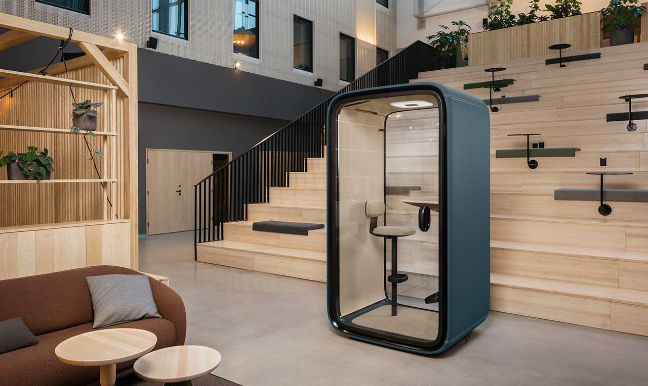 Framery Collaborates With Ultra To Launch Custom-Made Office Pods