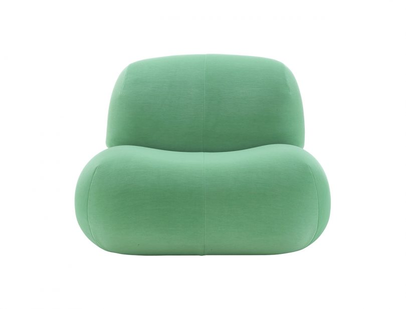 seafoam green chair