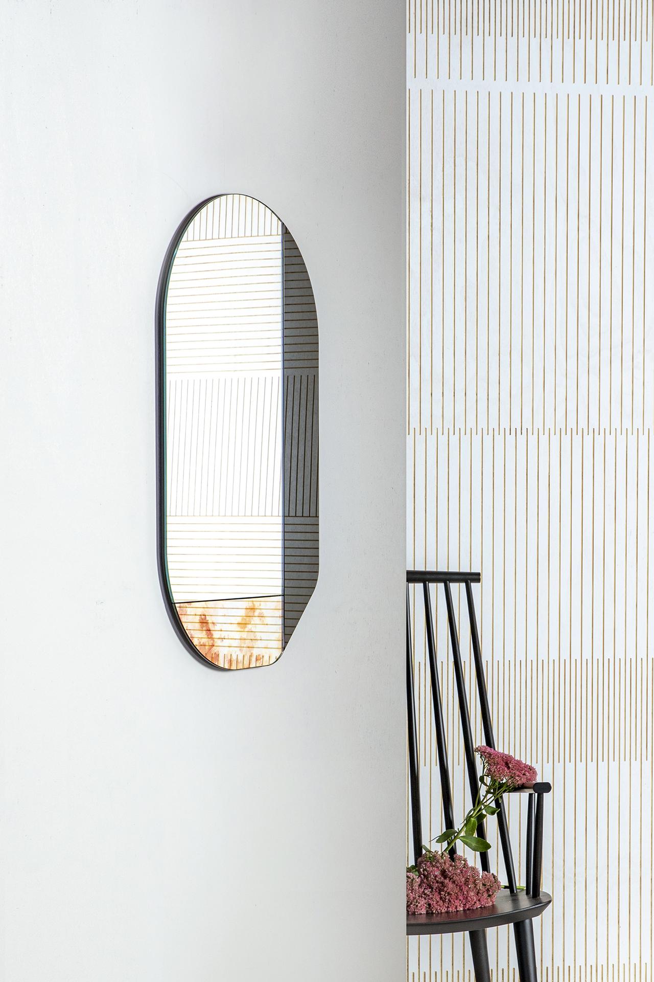mirror on wall