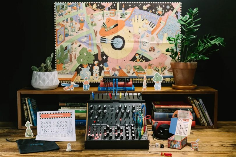 Moog Sound Studio All-in-One Modular Synth Kits are Synesthesiational for Beginners