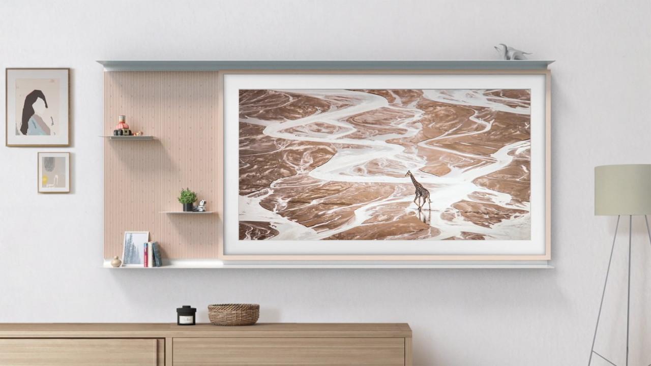 Samsung My Shelf Frames the Television as Decor