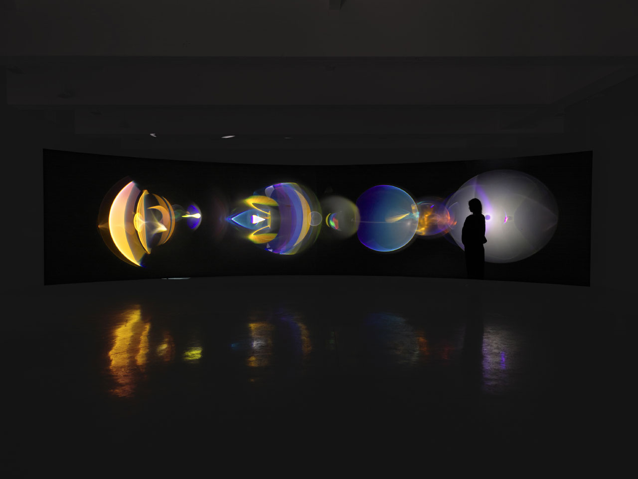 Your ocular relief: Olafur Eliasson's Ethereal Light Show