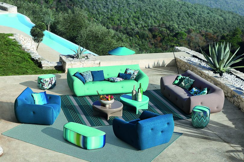 Roche Bobois's 2021 Outdoor Collection Is Welcoming + Ready