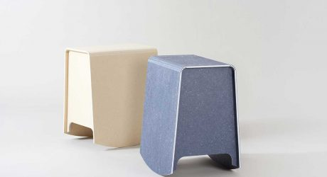 Shingle Stool Pulls Triple Duty in Flexible Working Environments