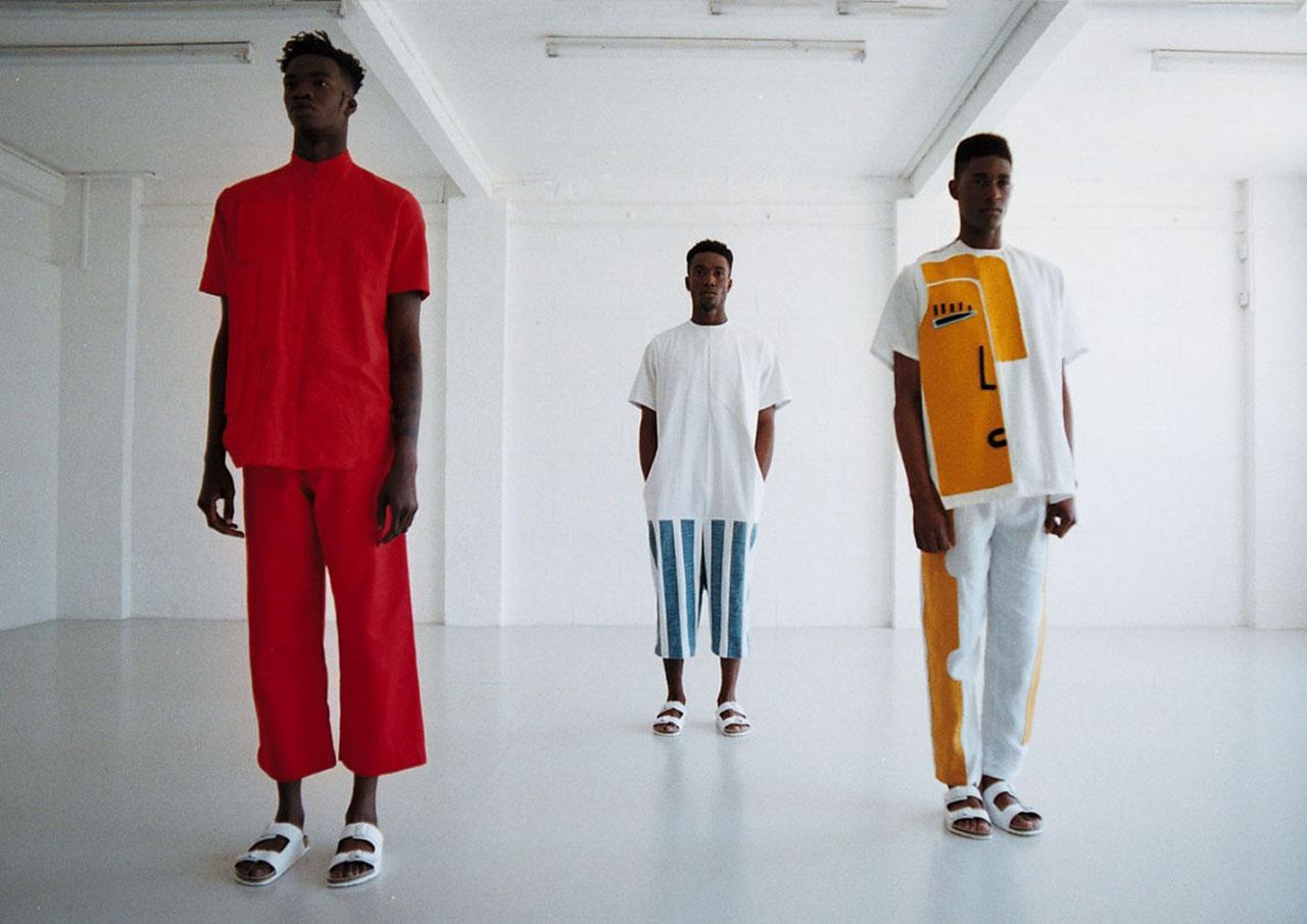 three fashion models