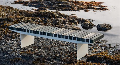"Vestre Turns ""Ownerless"" Ocean Plastics into Public Benches"