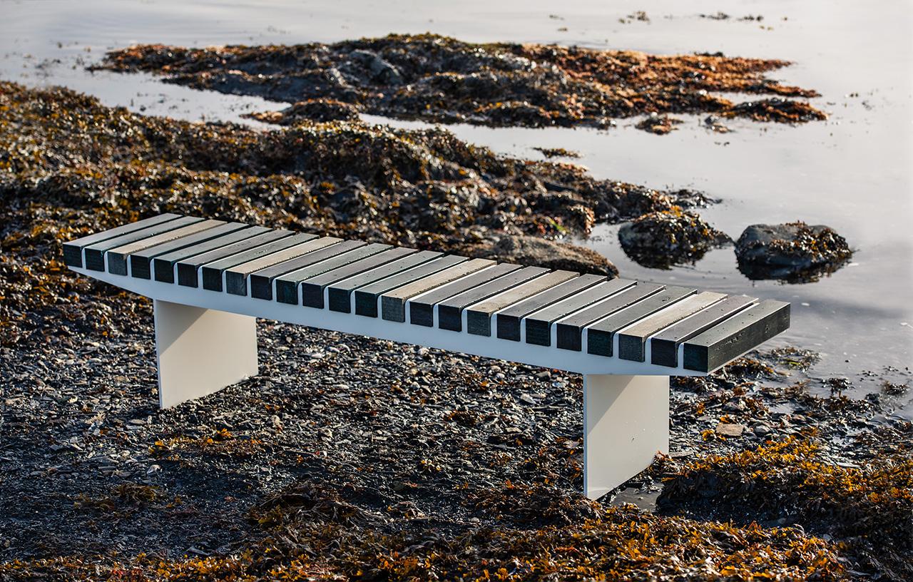 "Vestre Turns ""Ownerless"" Ocean Plastics into Public Benches"