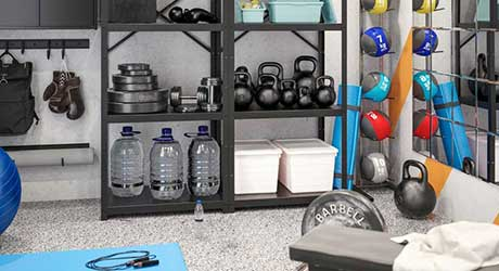 Wellness Benefits of Home Fitness Spaces
