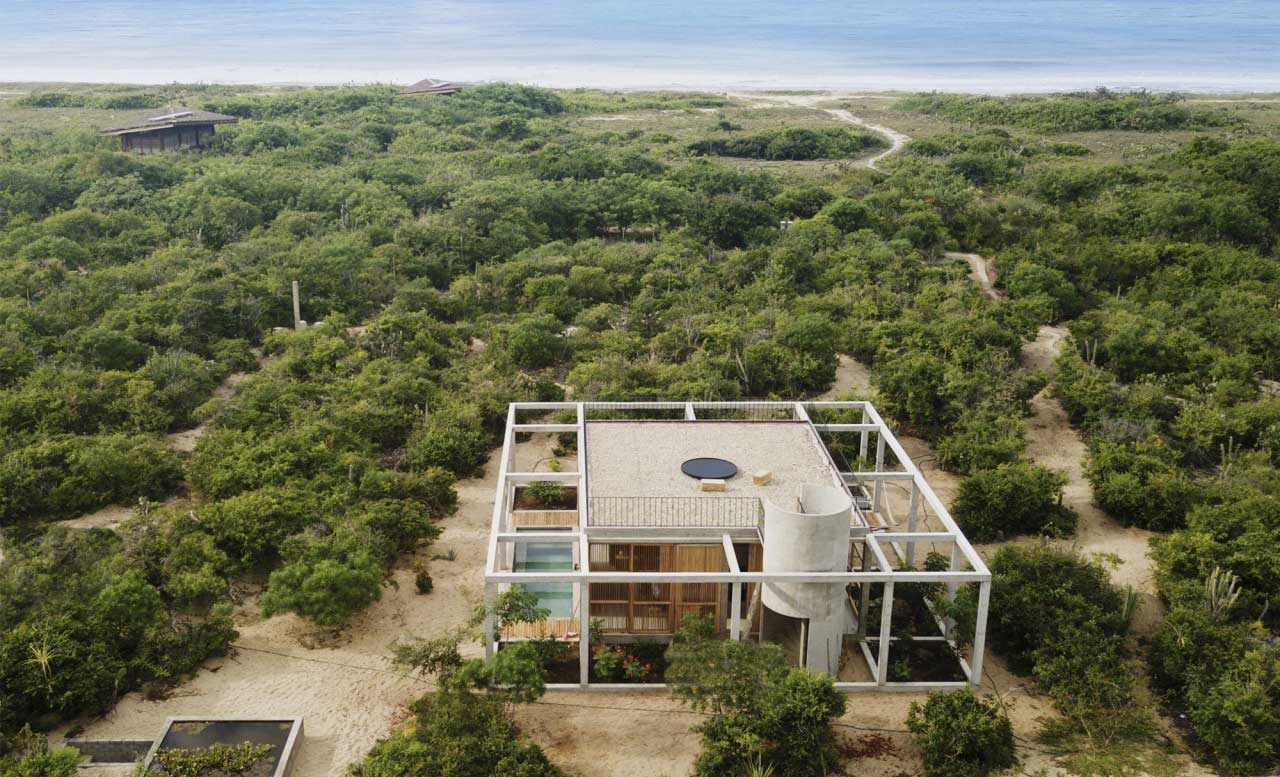 The Cosmos House in Puerto Escondido Is Defined By Three Main Elements