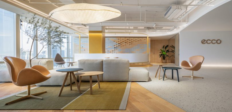 ECCO's New Office Is a Modern Blend of Xi'an, Danish and Shoe Cultures