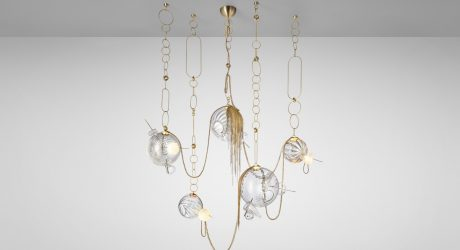 Lighting Collection by Lindsey Adelman Inspired by Nomadic Wandering