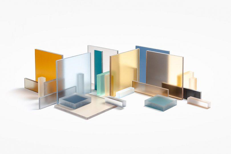 geometric blocks of color