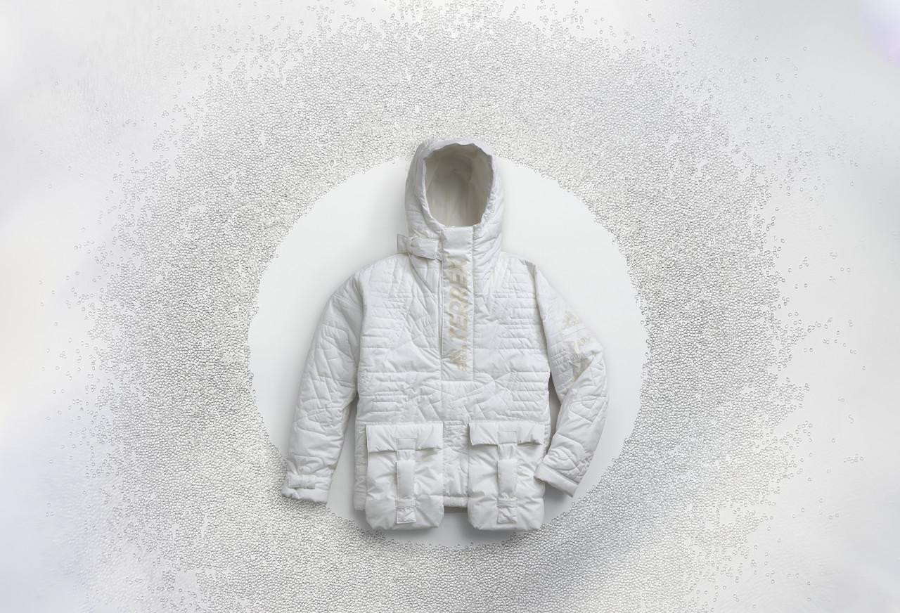 Ocean Plastic Recycled + Reborn as the Adidas Terrex FUTURECRAFT.LOOP Anorak