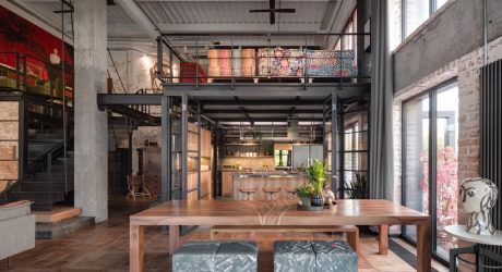 An Eclectic Loft in Kyiv Houses Treasures From Past and Present