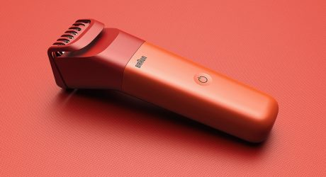 The Braun Trimmer Evolution Concept Shaves Away the Extraneous Details