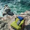 armchair on the beach