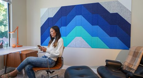 Transform Your Walls + Acoustics With Felt Right