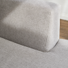sectional sofa detail