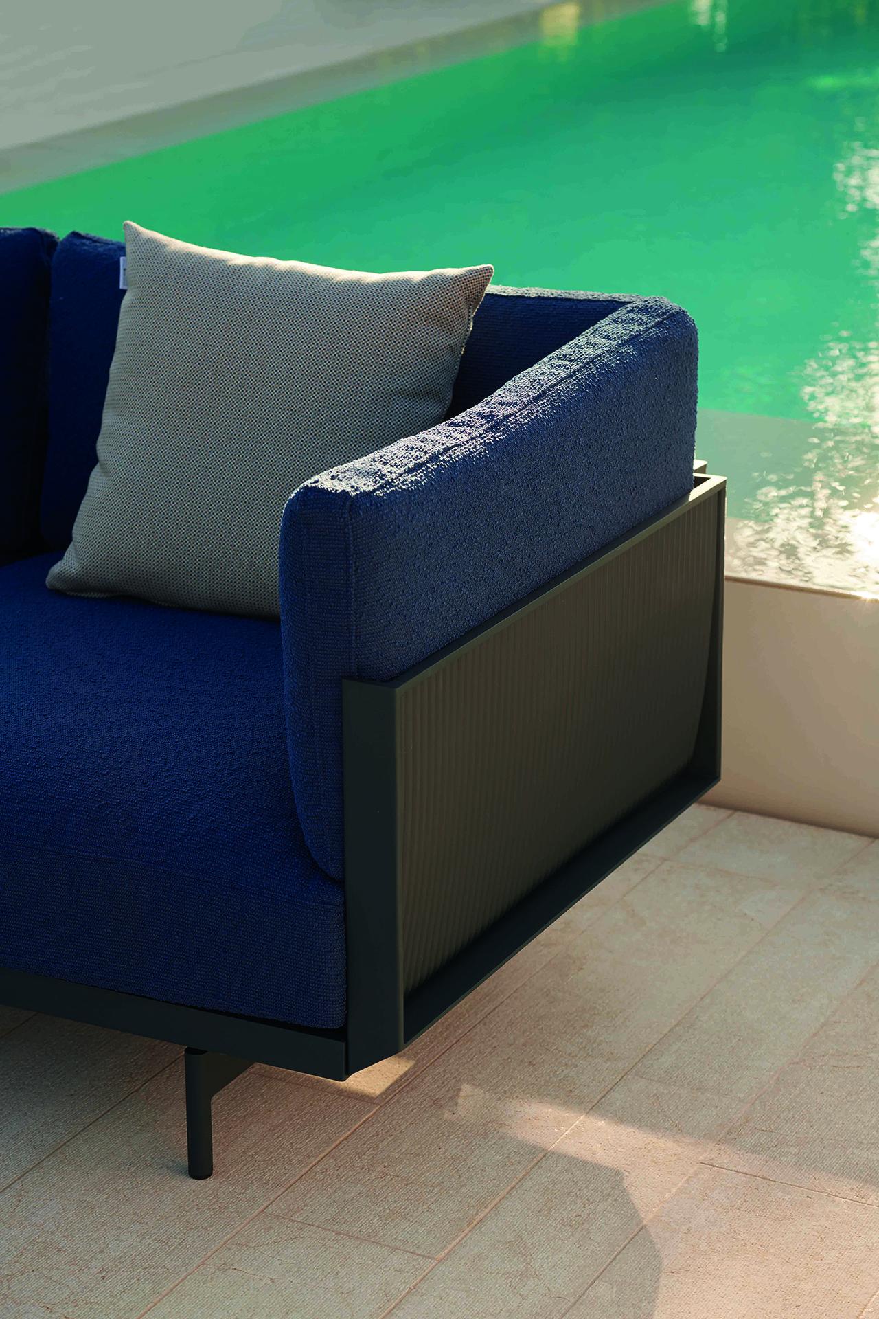 outdoor sofa detail