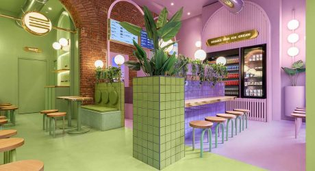 Masquespacio Brings a Fresh Approach to Hamburger Chain Bun in Milan