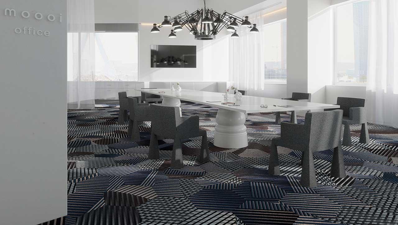 Moooi Carpets Tiles Bring Fresh Versatility To Flooring