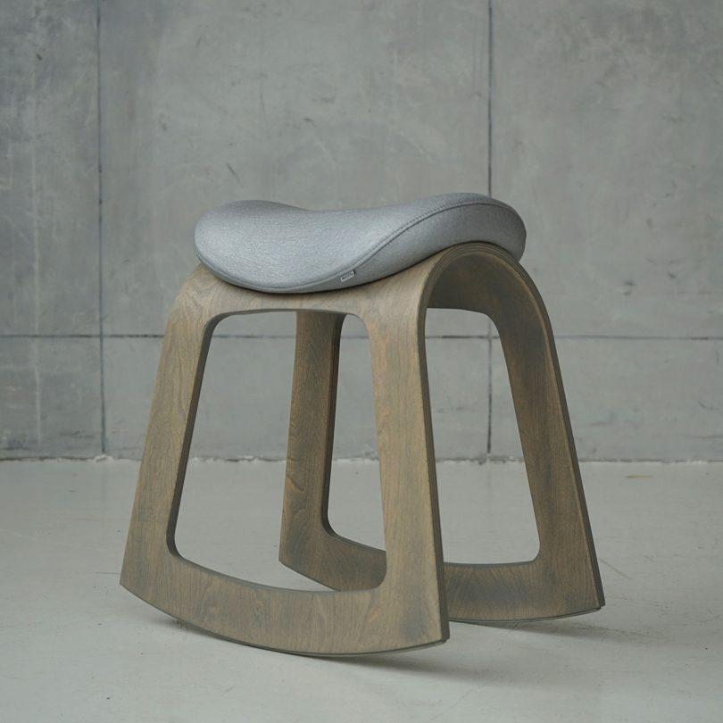 rocking stool
