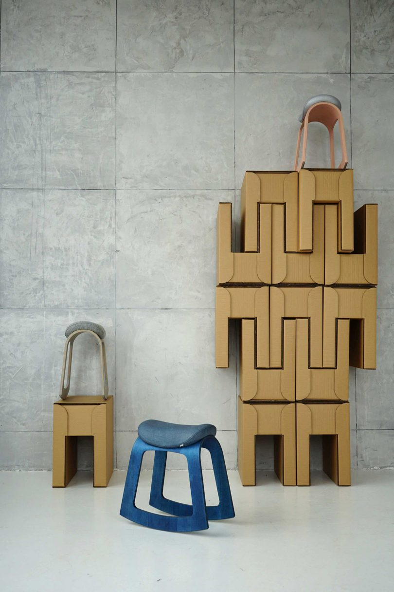 rocking stools